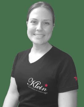 Desiree is een ervaren masseur bij Klein massage
