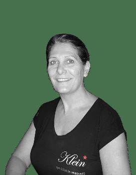 Wendy masseur bij Klein Massage