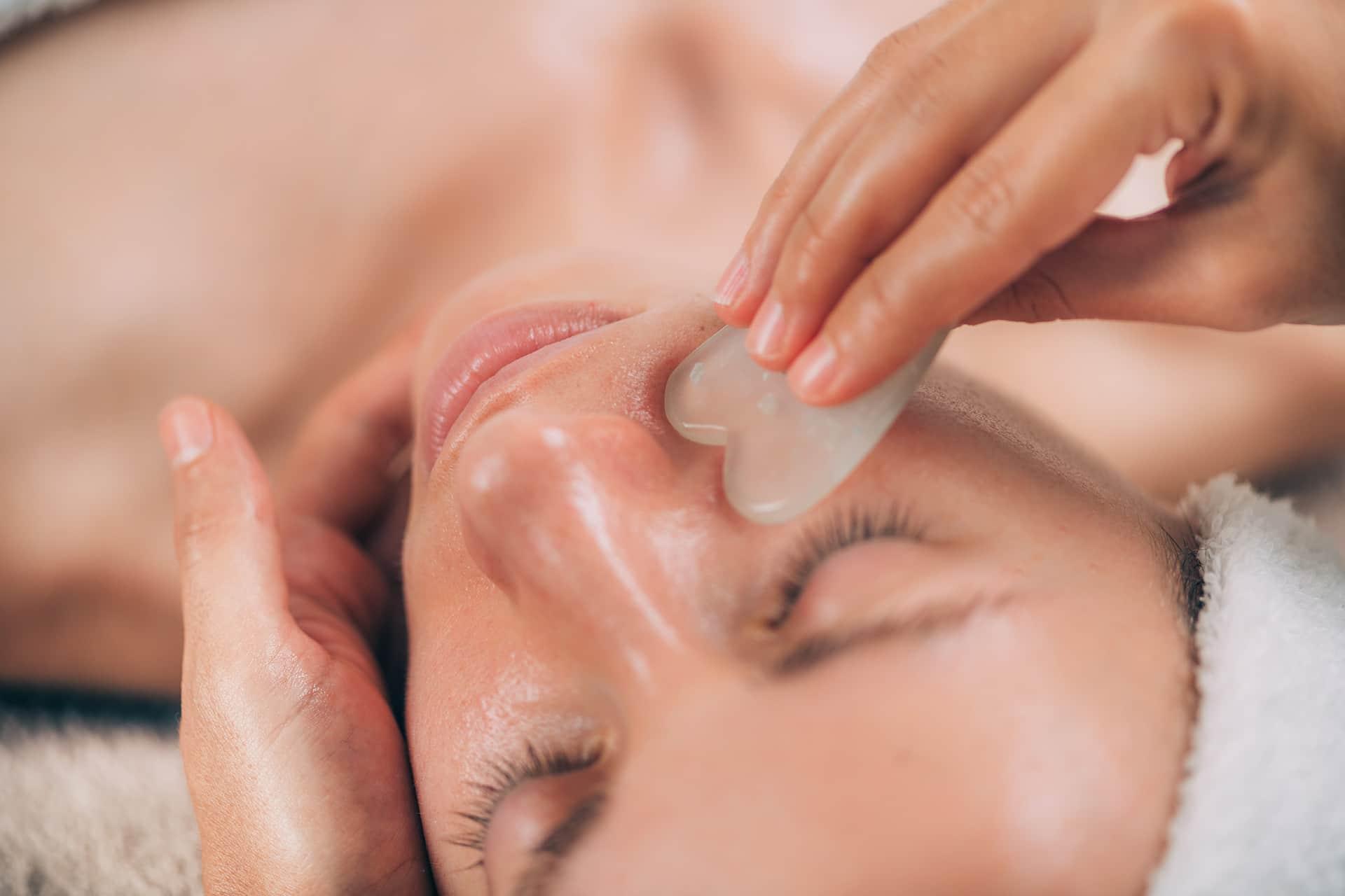 Guasha massage