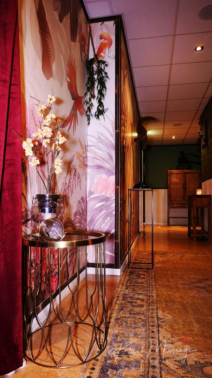 Klein massage Leiden een inkijk in de studio