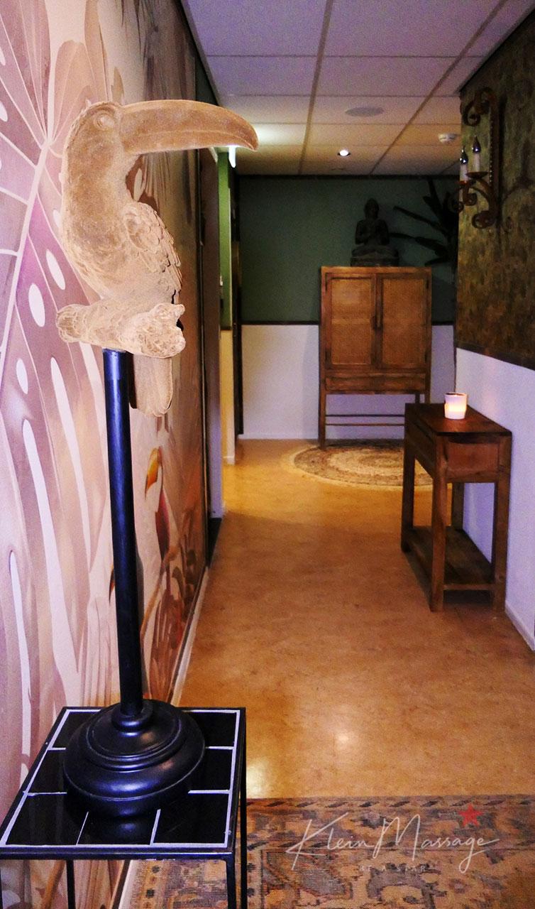 Small massage Leiden a glimpse into the studio