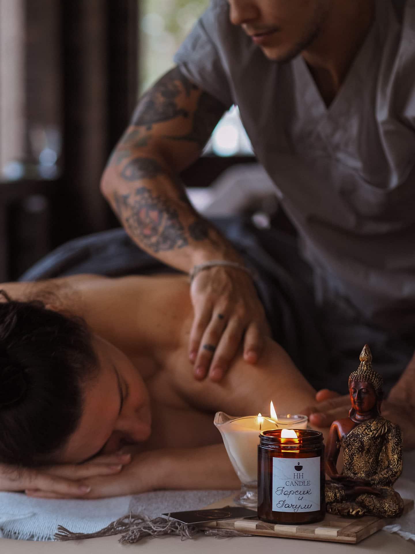 Massage in hotel